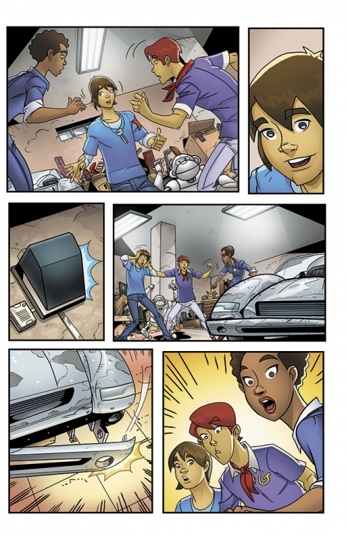 Speed Racer: The Next Generation page 07