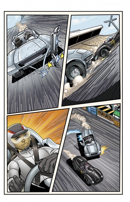 Speed Racer: The Next Generation page 13