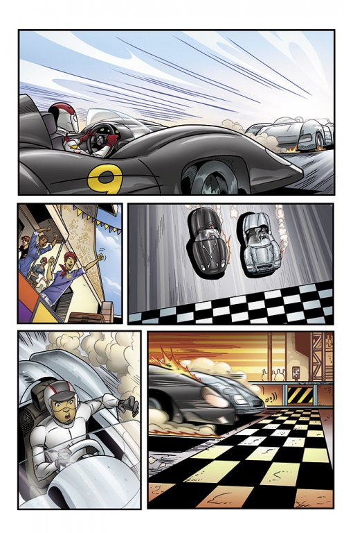 Speed Racer: The Next Generation page 15