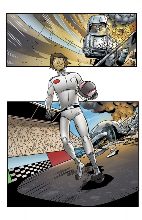 Speed Racer: The Next Generation page 16