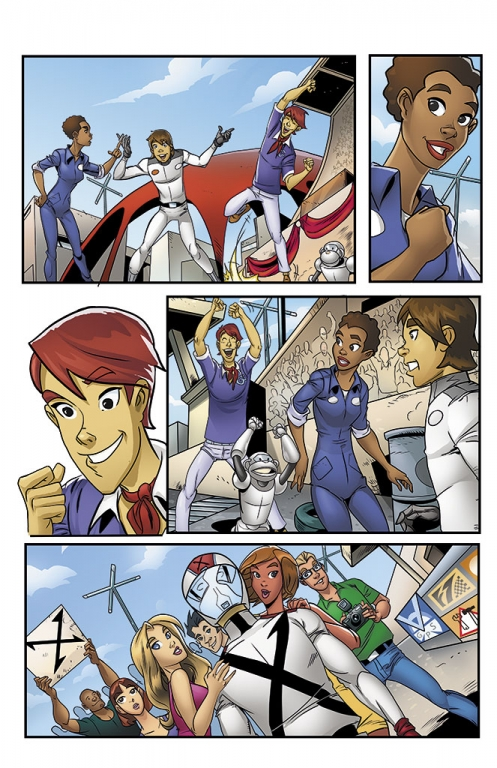 Speed Racer: The Next Generation page 17