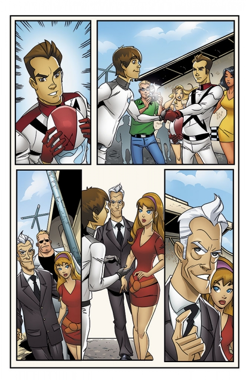 Speed Racer: The Next Generation page 18