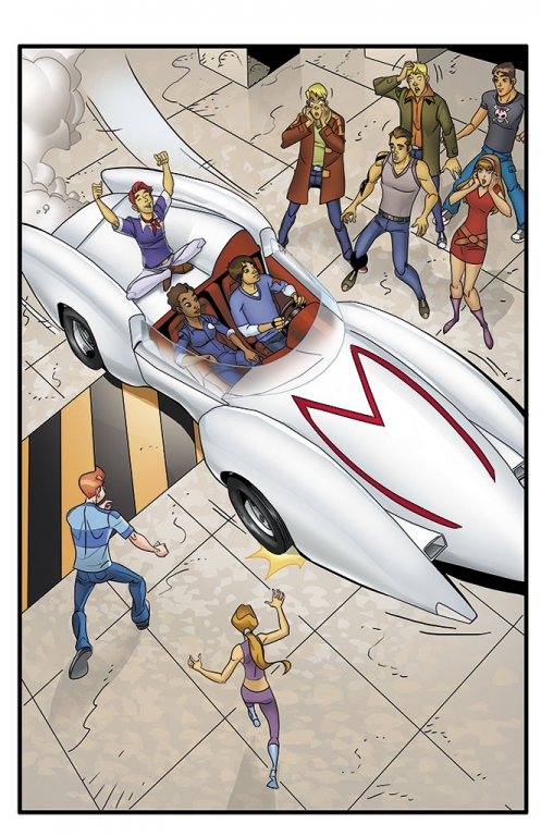 Speed Racer: The Next Generation page 06